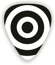 10 X Bulls-eye ~ GUITAR PICKS ~ PLECTRUMS  *Printed Both Sides*