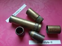 D02301 lot de 3 briquets de poilu incomplet pour piece trench art militaria ww1