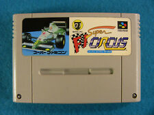 Super F1 Circus (Nintendo Super Famicom SNES SFC, 1992) Japan Import