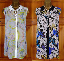 Evans Blouse Classic Collar Tops & Shirts for Women