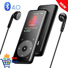 MP3 Player HIFI Lossless Sound MP4 Video Play 8GB SD Card Up To 128GB Metal Body