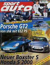 sport auto 12/99 1999 Carlsson SLK C23 Breyton 328i Honda S 2000 Porsche Boxster