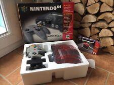 Consola Nintendo 64 N64 007-Excelente Estado-con la expansión en Caja