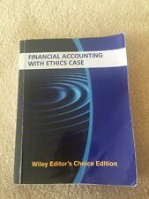 Financial Accounting With Ethics Case