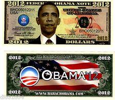 FEDERAL USA OBAMA NOTE ETATS UNIS 2012 $ DOLLARS NEUF UNC