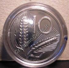REPUBBLICA ITALIANA 10 Lire 1990  Proof  Fondo Specchio