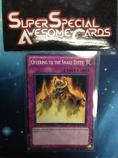 Yugioh Offering to the Snake Deity DT03-EN096 Parallel Rare Mint Fast Shipping!