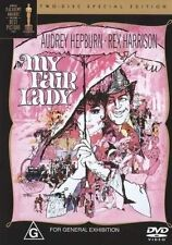 My Fair Lady (DVD, 2004, 2-Disc Set) Classic Family Movie Audrey Hepburn VGC R4