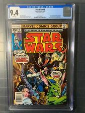 Star Wars 1978 #9 NM CGC 9.4! Mark Jeweler Variant!