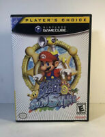 Super Mario Sunshine (Nintendo GameCube Game Lot) Complete Tested w/ Insert