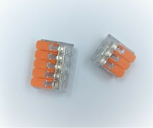 Splicing Connector with Lever Lock-Various-Pack-Sizes-3POLES/5POLES