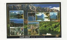 South Island New Zealand Postcard 616a