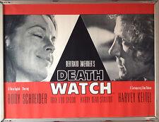 Cinema Poster: DEATHWATCH 1980 (Quad) Romy Schneider Harvey Keitel