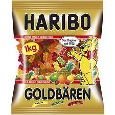 Haribo Goldbaren Goldbears- gummy bears- XXL 1kg FREE Shipping