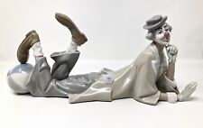 Lladro Figurine Reclining Clown with Ball PORCELAIN FIGURE STATUE Figurine
