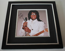 Nile Rodgers SIGNED Framed LARGE Square Photo Autograph display AFTAL & COA
