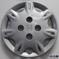 "'95-'97 HONDA  ACCORD, USED 14"" HUBCAP, SILVER, 14 SPOKE, ETCHED LOGO, 55036"