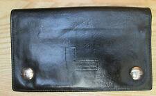 AUTHENTIQUE portefeuille porte-monnaie LANCEL  cuir  BEG vintage