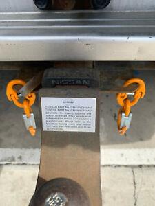 Vehicle Safety Chain Hook & Coupler Set - Quick Coupler - 4000kg ATM