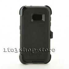 Otterbox Defender Samsung Galaxy S7 edge Hard Case w/Holster Belt Clip Black USE