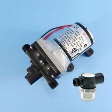 SHURflo 4009 - 12V Fresh Water Auto Pump + Twist on Filter - 11 LPM / 45 PSI. 1/