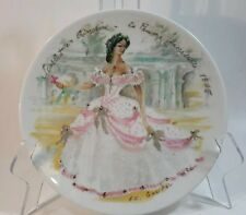 D'Arceau Limoges Women Of The Century Plate French Women Of Fashion R. Ganeau 76