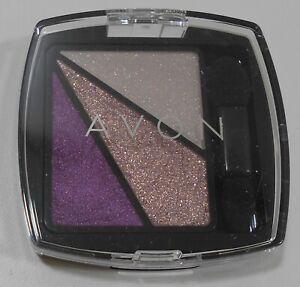 NIB Avon Eye Dimension Shadow Trio SWEETHEART PLUM Compact Glittery Colors