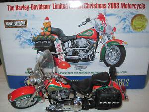 Franklin Mint Harley-Davidson Heritage Softtail 2003 Christmas