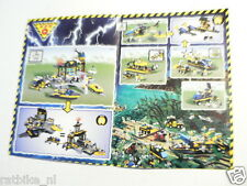 LEGO BROCHURE FLYER CATALOG TOYS 1999 DUTCH 4 PAGES