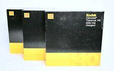 3 Pack Kodak Carousel 140 Slide Tray In Original Factory Box Cat 889 5193 NEW