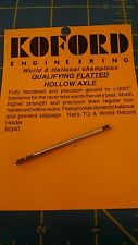 KOFORD #340 QUALIFYING FLATTED HOLLOW 3/32 Axle 1/24 slot  Mid-America Napervile