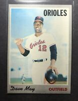 1970 TOPPS #81 DAVE MAY NM to NM/MT