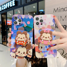 Disney Mickey Minnie Donald Stand Holder Case Cover for iPhone 12 11 Pro XR Max