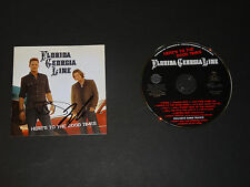 FLORIDA GEORGIA LINE SIGNED AUTOGRAPHED DEBUT CD HERE'S TO THE GOOD TIMES CRUISE