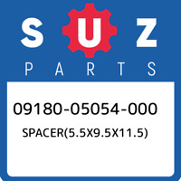 09180-05054-000 Suzuki Spacer(5.5x9.5x11.5) 0918005054000, New Genuine OEM Part