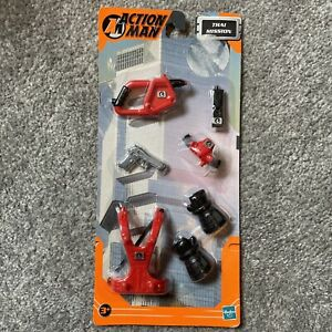 ACTION MAN THAI MISSION ACCESSORIES KIT 2001 HASBRO UNOPENED IN BLISTER PACK