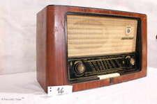RETRO! 50er Jahre Radio GRUNDIG TYPE 3010 Röhrenradio Holzradio / Nr. 16