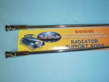 1932 1933 1934 1935 1936 1937 1938 1939 Ford Car Trucks Radiator Support Rods