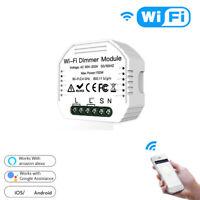 DIY Intelligent WiFi Licht LED Dimmer Schalter Smart Life / Tuya APP Fernbe K7J9