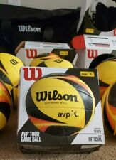 """""""THE"""" New Official Game Ball of AVP Pro Beach Volleyball Tour OPTX (Used)"""