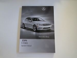 2011 Mercedes Benz C-Class Usado Fábrica Originales Owners Manual