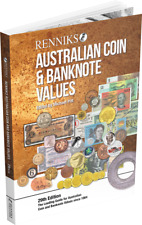 2019 Renniks Australian Coin & Banknote Values Book 29th Edition (Softcover)