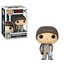 Funko - POP Stranger Things S3 - Will Ghostbusters Brand New In Box