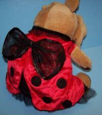 Ladybug Dress Pet Dog Cat Costume Halloween Red & Black SMALL S SM NICE!