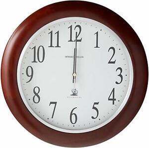 Howard Miller Murrow Wall Clock 625-259 – Modern Atomic & Radio Control Movement
