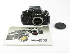 Nikon f2 Photomic SLR nero black reflex + dp-1 con batterie