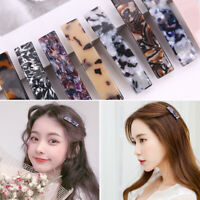 Fashion Girl Leopard French Hair Clip Barrette Bobby Pin Hairpin Accessories Hot