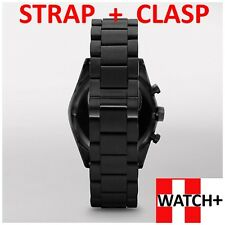 23mm Black Rubber/Silicone Strap/Band/Bracelet for Emporio Armani Watch AR5889