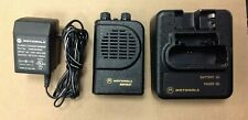 Motorola Minitor 3, Minitor Iii, Pager, # A03Yms7238Bc, 1 Frequency, Charger Vhf