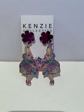 "Kenzie Collective ""It's Showtime BAM"" Dangle Earrings - BRAND NEW"